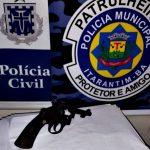 Itarantim: Após tentativa de homicídio, homem é preso e revólver apreendido