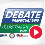 Debate entre candidatos a prefeito em Itapetinga: longe da imprensa e sem intérprete de libras